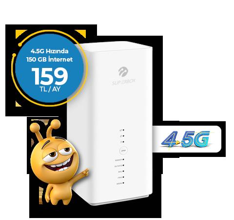 Superbox 4.5G Fiber Hızında 150GB İnternet